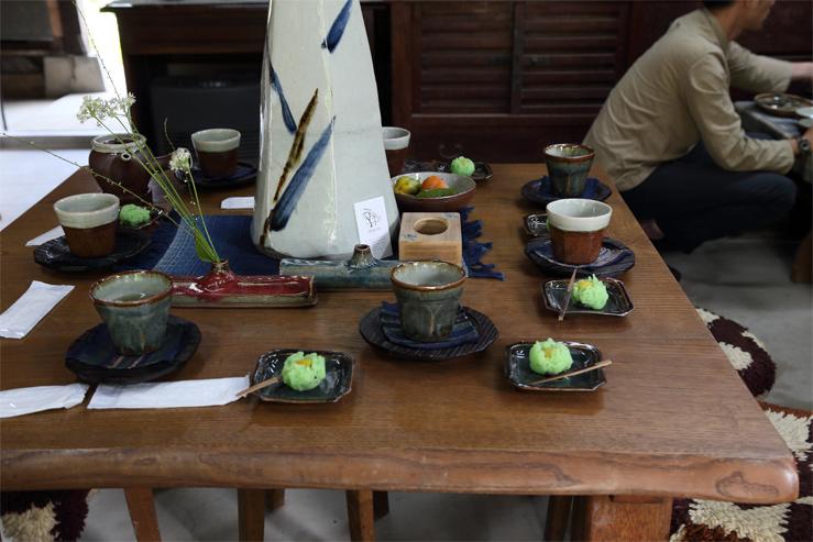 森山窯・瑠璃色のお皿